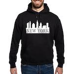 New York Skyline Hoodie (dark)