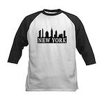 New York Skyline Kids Baseball Jersey