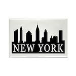 New York Skyline Rectangle Magnet (100 pack)