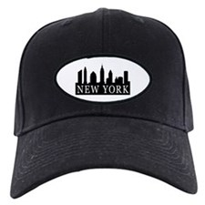 New York Skyline Baseball Hat