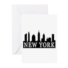 New York Skyline Greeting Cards (Pk of 20)
