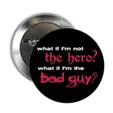 "Twilight Bad Guy 2.25"" Button"