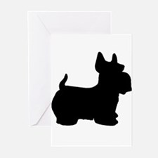 SCOTTY DOG Greeting Cards (Pk of 20)