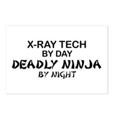 X-Ray Tech Deadly Ninja Postcards (Package of 8)