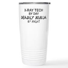 X-Ray Tech Deadly Ninja Travel Mug