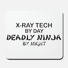 X-Ray Tech Deadly Ninja Mousepad