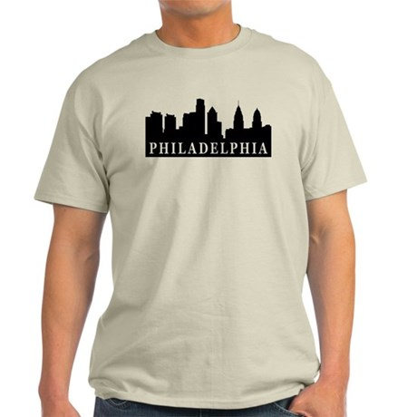 Philadelphia Skyline Light T-Shirt
