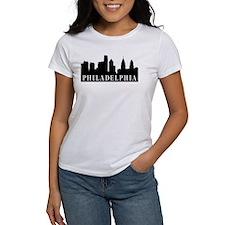Philadelphia Skyline Tee