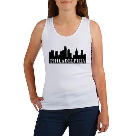 Philadelphia Skyline Women's Tank Top