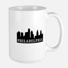 Philadelphia Skyline Large Mug