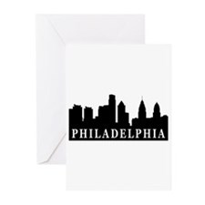Philadelphia Skyline Greeting Cards (Pk of 10)