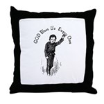 Tiny Tim Throw Pillow