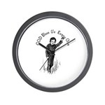 Tiny Tim Wall Clock