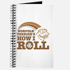 norfolk terrier's how I roll Journal