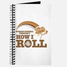 parson russell terrier's how I roll Journal