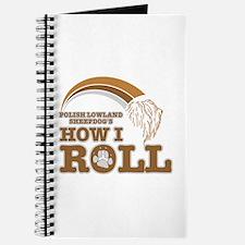 polish lowland sheepdog's how I roll Journal