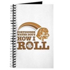 portuguese water dog's how I roll Journal