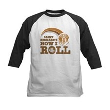 saint bernard's how I roll Tee