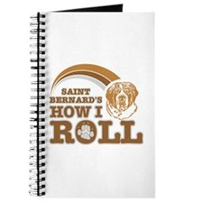 saint bernard's how I roll Journal