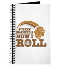 sussex spaniel's how I roll Journal