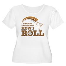 swedish vallhund's how I roll T-Shirt