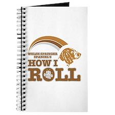 welsh springer spaniel's how I roll Journal