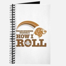 welsh springer spaniel's how I roll Journal