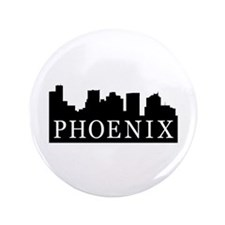 "Phoenix Skyline 3.5"" Button (100 pack)"