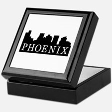 Phoenix Skyline Keepsake Box