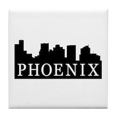 Phoenix Skyline Tile Coaster