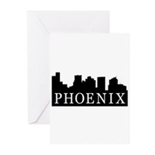 Phoenix Skyline Greeting Cards (Pk of 20)
