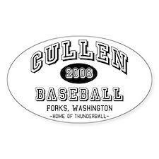 Cullen Baseball 2008 Oval Sticker