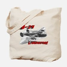 "B-24 ""Comin' through!"" Tote Bag"
