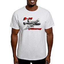 "B-24 ""Comin' through!"" T-Shirt"