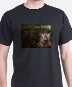 Angles & Ghosts Cemetery T-Shirt