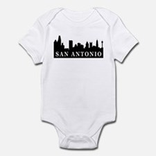 San Antonio Skyline Infant Bodysuit