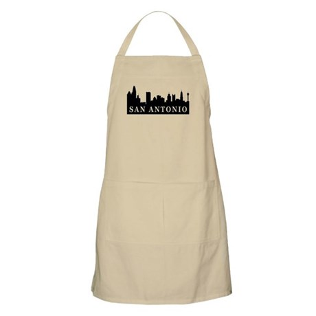 San Antonio Skyline BBQ Apron