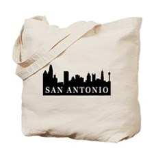 San Antonio Skyline Tote Bag