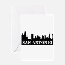 San Antonio Skyline Greeting Card