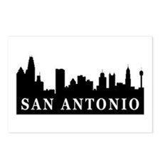 San Antonio Skyline Postcards (Package of 8)