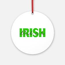 Irish Bride To Be Ornament (Round)