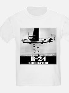 "B-24 ""Bombs away!"" T-Shirt"