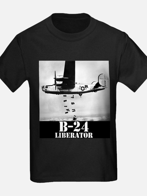"B-24 ""Bombs away!"" T"
