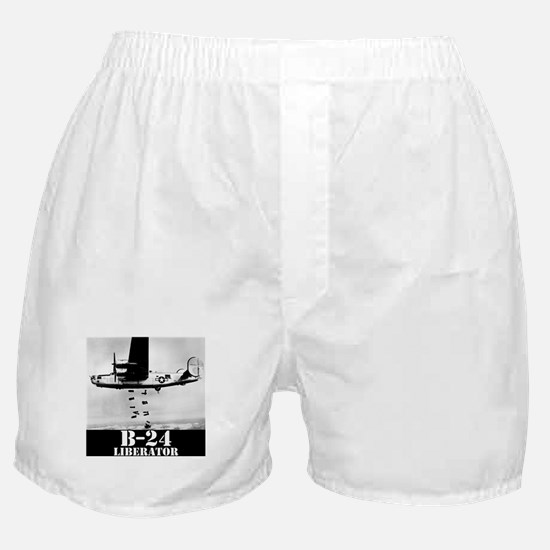 "B-24 ""Bombs away!"" Boxer Shorts"