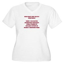 Sparkle Drenched Thoughts T-Shirt