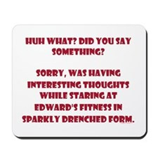 Sparkle Drenched Thoughts Mousepad