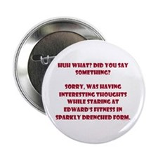 """Sparkle Drenched Thoughts 2.25"""" Button"""