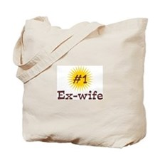 #1 Ex-Wife Tote Bag