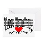I Love Handbags Greeting Cards (Pk of 20)