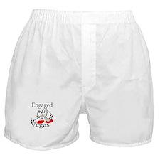 Engaged In Vegas Boxer Shorts